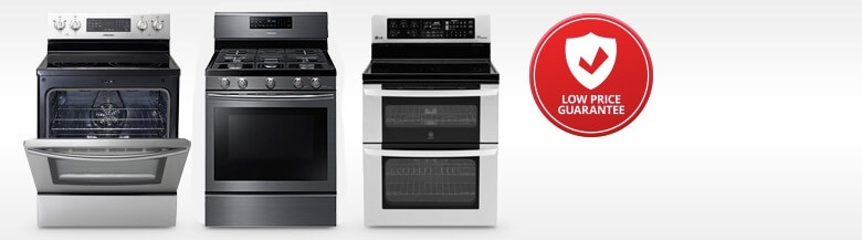 Ranges, Gas and Electric Stoves & Ovens : Appliances & Cooktops ...