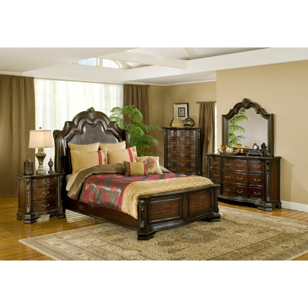 bedroom furniture sets : beds, bedframes, dressers & more | conn's