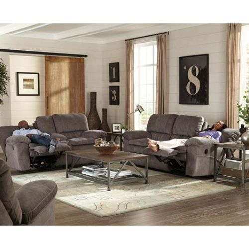 Weston Living Room Collection - Power Reclining Sofa and Loveseat