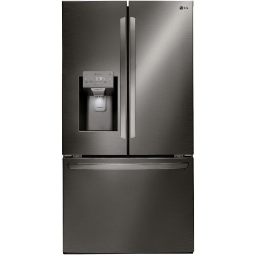 LG 26 Cu. Ft. Smart Wi-fi Enabled French Door Refrigerator - LFXS26973D