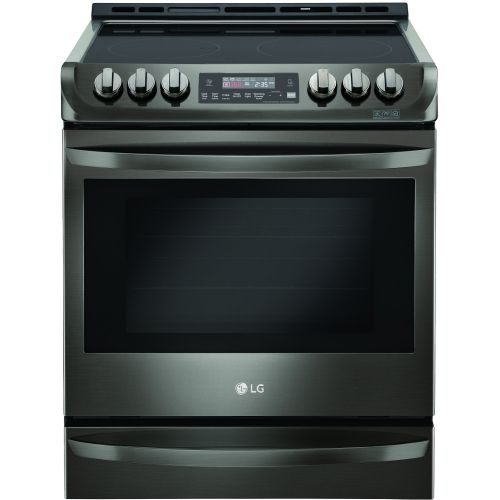 LG  6.3 Cu. Ft. Electric Single Oven Slide-in Range w/ ProBake Convection® - LSE4613BD
