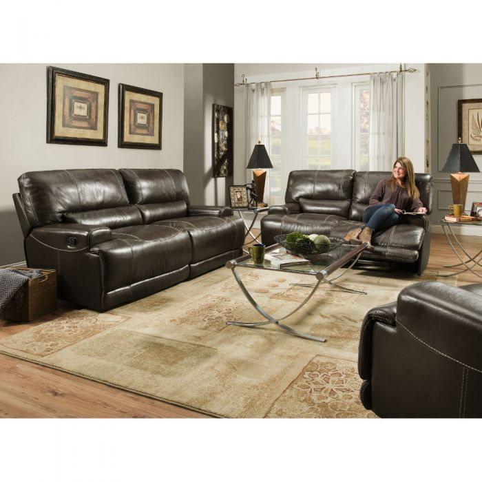 Napa Reclining Brown Living Room