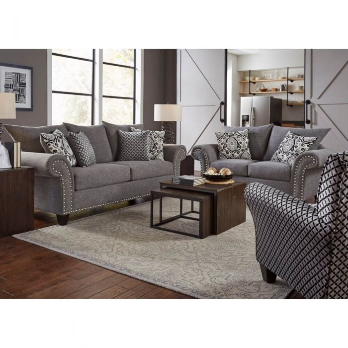 Paris Living Room Sofa Loveseat